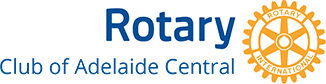 Rotary Adelaide Central logo